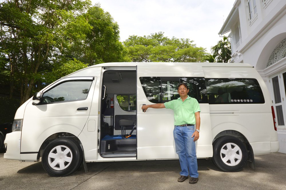 Daily minivan rental in Chiang Mai